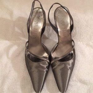 Pewter Anne Klein Collection (Vintage) shoes